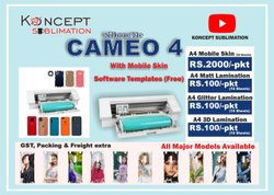 Mobile Skin Sticker Machine