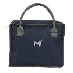 SMS BAG HOUSE Tiffin Bag For Boys & Makeup Kit Bag For Girls (Blue)
