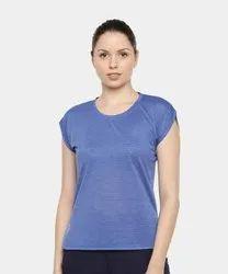 FINO Half Sleeve Ladies T Shirt, According To Size
