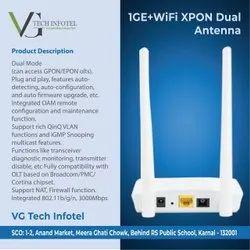 1GE Wifi Xpon ONT Dual Antenna