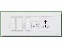 5A PVC Electric Switch Board, 01