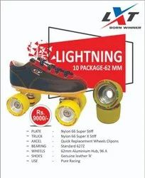LXT Black Lightning 10 Skate Package, For Pure Racing, Size: 62mm,96A