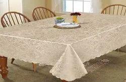 Light Brown Rectangular Cotton Table Linen