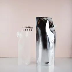 Transparent / Metalized Stand Up Pouch With Spout
