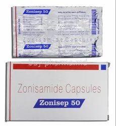 Zonisep 50mg Capsules
