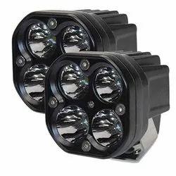 AllExtreme EX40WF2 4 LED Fog Light Bright Spot Flood Beam Lamp 40 Watt, 2pcs