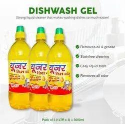 User Dishwash Liquid Gel For Dish Washing, Packaging Size: 1 Litre