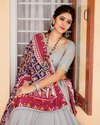 Present Soft Silk Mirror Work Good Looking Lehenga Choli