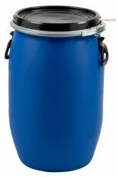 Blue Chemicals UN Approved Open Top Plastic Drums, For Packaging Industry