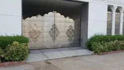 Polished Bungalow Steel Gate, For Residential