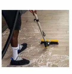 Floor Scrubbing Buffing Service
