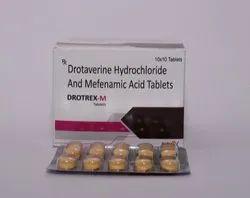Drotaverine Hydrochloride And Mefenamic Acid Tablets