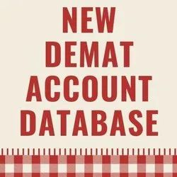 60 Iso9001 New Demat Account Database