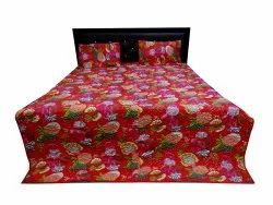 Fruit Print Quilted Bed Comferter