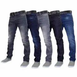 Plain Mens Denim Pant