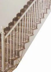 3.5 Feet Interior Residential Stainless Steel Staircase, For Hotel,Home