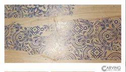 Sunwell Ceramic Berlin Crema Beige Floor Tile, Thickness: 8 mm