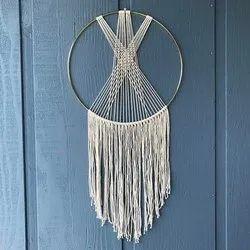 White Wall Hanging Tassel Fringes