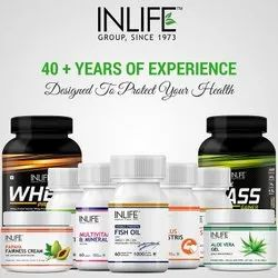 Inlife Tablets Iron Folic Acid Tablet, Packaging Type: Hdpe Bottle, Packaging Size: 60