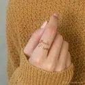 Sterling Silver Finger Ring Name Ring