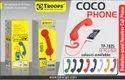 TP Troops Coco Phone (Headphone) 7025 (Box-30)  Earphone