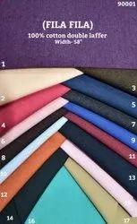 Fila Fil 100% Cotton Double Laffer Shirting Fabric