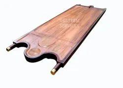 Short Bowl Wood Ayurvedic Massage Bed