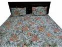 Screen Print Quilted Bed Comferter