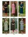 Ladies Flavour Serena Vol 3 Rayon With Embroidery Work Kurti Catalog