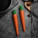 Carrot Shaped Silicon Oil Kitchen Brush  - Carrot Shaped Silicon Kitchen Oil Brush