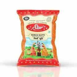Star Masale Mirch Kuti, Packaging: Packet