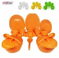 Plastic Dinner Set