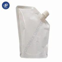 Milky White Spout Pouch 10 mm