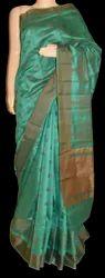 Handmade Banarasi Cotton Silk Saree