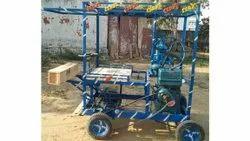 Iron Semi-Automatic 4 Wheeler Sugarcane Juice Machine, Yield: 500 ml/kg