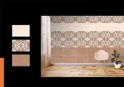 Vadsola Ceramic White,Brown 10x15 Inch Marble Wall Tile, Size: 250*375 mm, Thickness: 12 mm