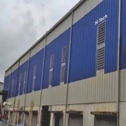 Hi Tech Vertical Walls of Industries Polycarbonate Industrial Louvers, For Commercial & Residential