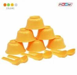 Plastic Bowl Set 6 Bowl