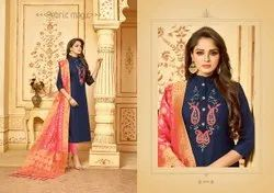 Avc Bansuri Cotton Dress Material