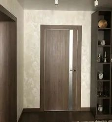 AP Wood Brown Designer Flush Doors, For Home