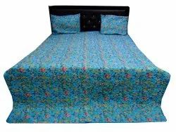 Floral Print Quilted Bed Comferter
