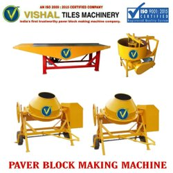 Interlock Tile Making Press
