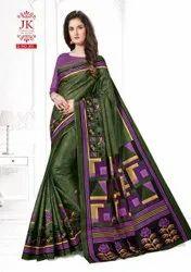 Block Prints Casual Wear JK Cotton Club Vaishali Vol 3-Pure Cotton Sarees, With Blouse, 6.3 m