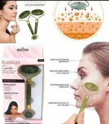 Jade Facial Roller Natural Beauty Massager For Glowing Skin
