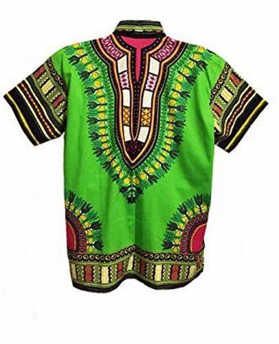 Paras Fashion Rayon Casual Wear African Dashiki Shirts