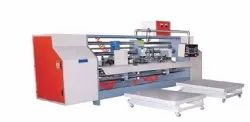 Semi Automatic Double Joint Stitching Machine 7 Ply Boxes