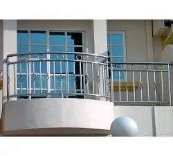 Stainless Steel Balcony Grills, For Home