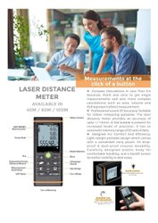 Laser Distance Measuring Device
