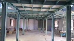 Mezzanine Layed Steel Frames