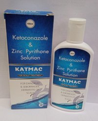 Ketoconazole Zinc Pyrithione Shampoo (KATMAC)